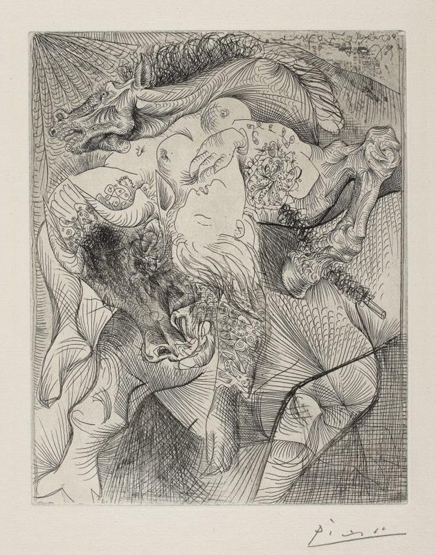 ArtOfZoo - Picasso bestiality animal sex art