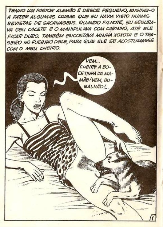 ArtOfZoo Dog Sex Comic Tijuana Bible