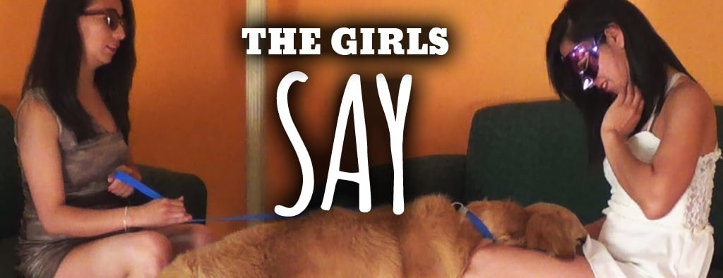The Girls Say - dog sex video
