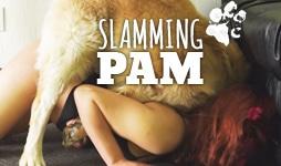 Slamming Pam Banner