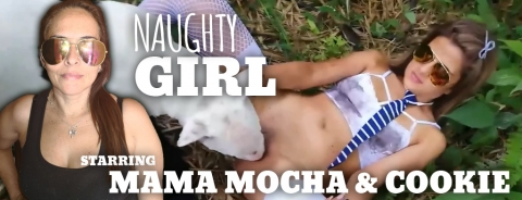 Naughty Girl!: Starring Mama Mocha & Cookie