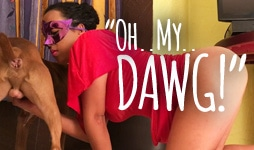 Oh My Dawg: by Monica - ArtOfZoo animal sex video