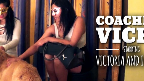 """Coaching Vicky"": Starring Victoria and Isabella"