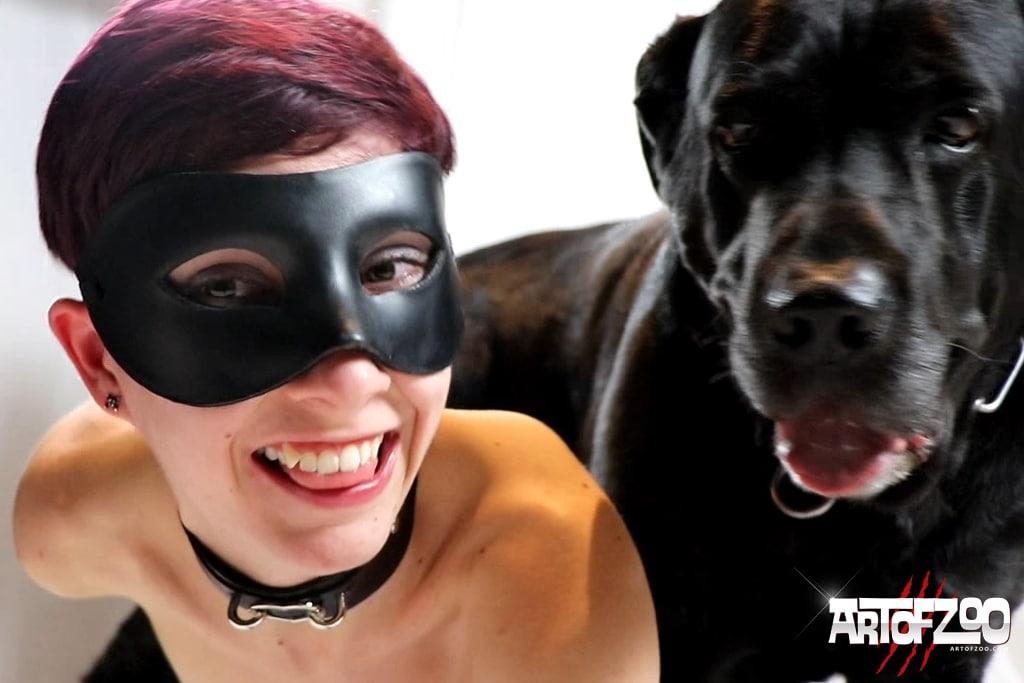 Art Of Zoo - Lena in Love - dog porn